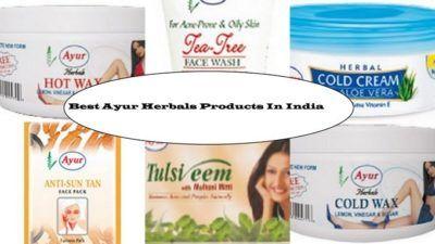 10 Beste Ayur herbals produkter tilgjengelig i India