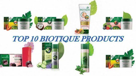 10 Beste biotique produkter tilgjengelig i India