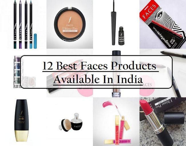 12 Beste ansikter kosmetiske produkter i India