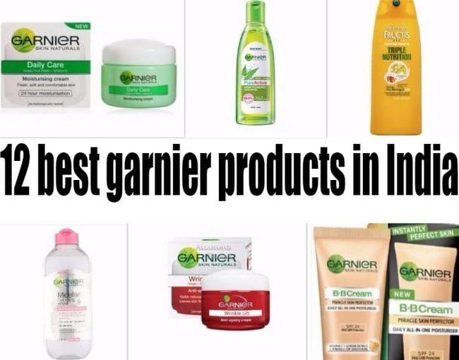 12 Beste Garnier produkter i India: hud, hår