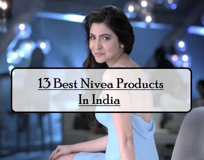 13 Beste NIVEA produkter tilgjengelig i India