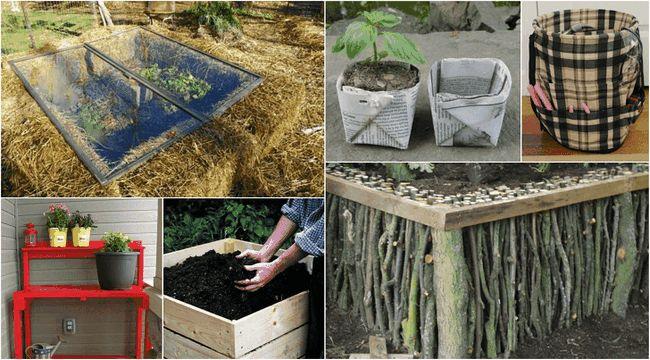 15 Må se DIYs å få hagen din klar for våren