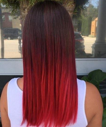 20 Classy ombre hårfarge
