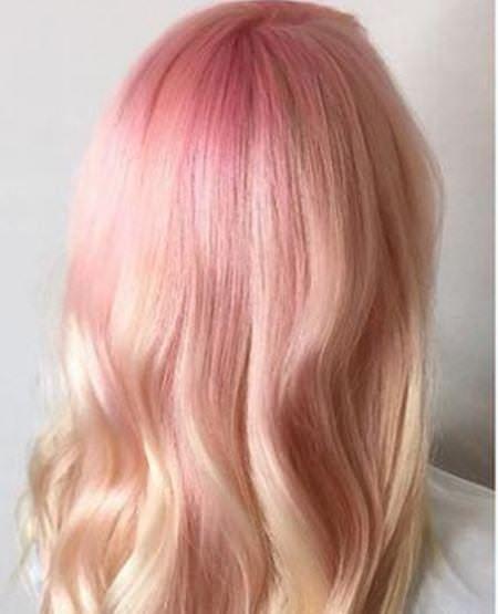 20 Pastell rosa frisyrer