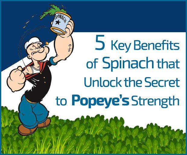5 Viktige fordelene med spinat som låser opp hemmeligheten til Popeye styrke