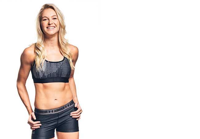 En dag i livet til vinteren Olympian Danielle Scott
