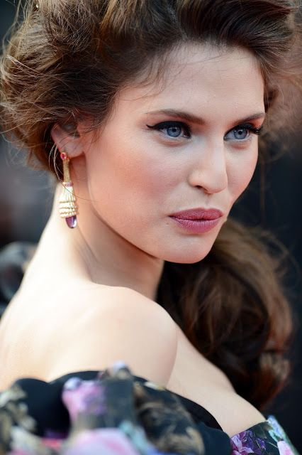 Bianca balti cannes 2012: kjole, sminke, backstage video