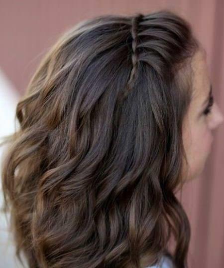 Flettet hodebånd frisyrer