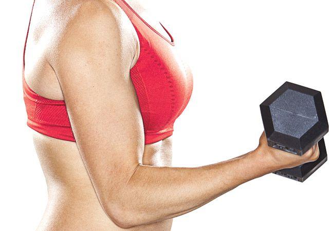 Kan styrketrening føre opp i vekt?