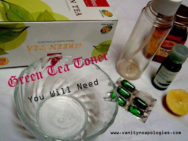 Gjør det selv: grønn te toner (trinn for trinn bilde opplæringen)