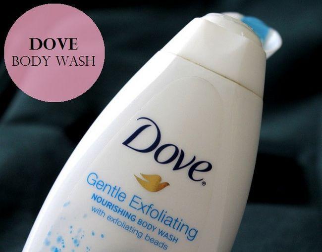 Dove mild eksfolierende nærende kroppsvask: vurdering, pris