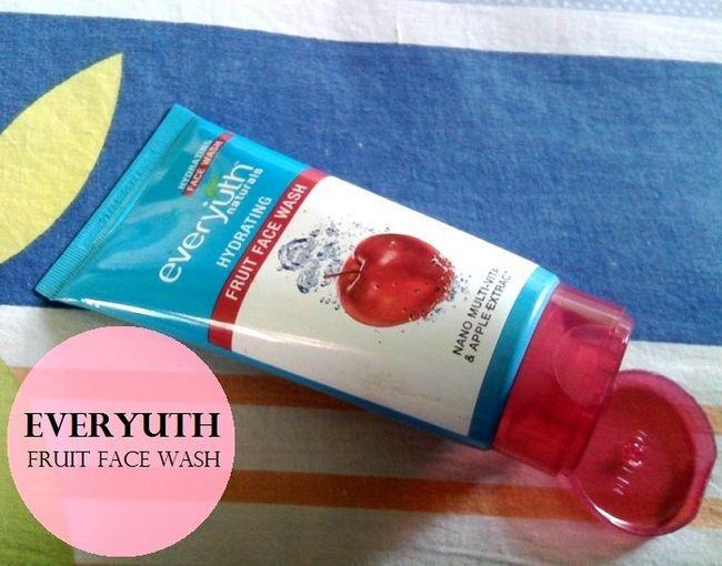 Everyuth naturals fuktighetsgivende frukt ansikt vask: Anmeldelser, pris