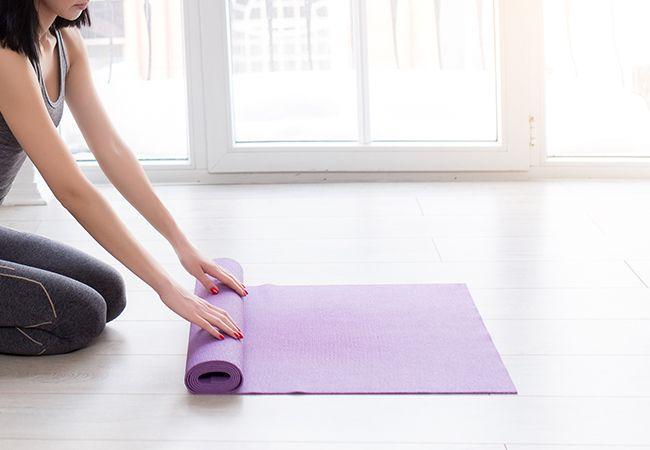 Hvordan lage den perfekte yoga plass