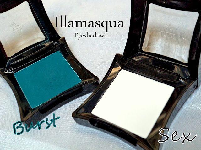 Illamasqua sex øyenskygge gjennomgang, fargeprøver + 6 måter å bruke en matt hvit øyenskygge