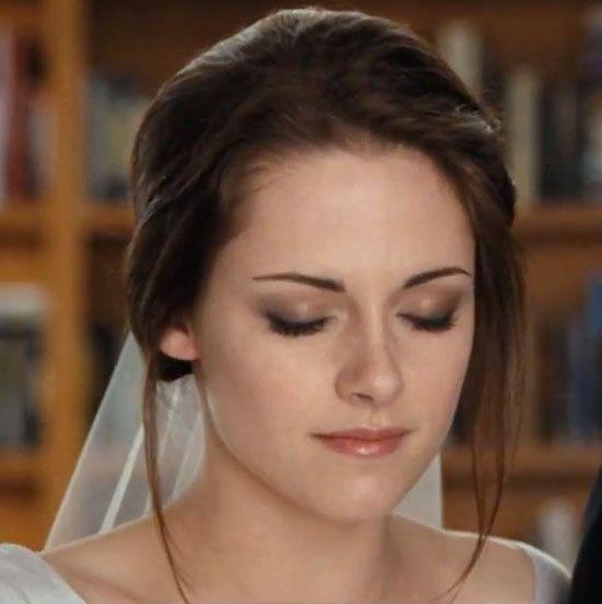 Kristen Stewart brude makeup i Breaking Dawn (del 1)