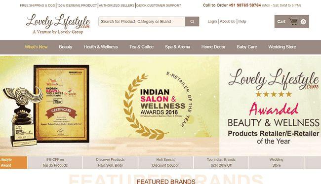 Nydelig livsstil: shop skjønnhet og velvære produkter i India