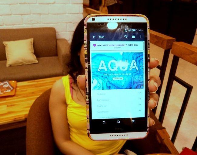 Dagens eventyr med Myntra app: skjønnheten og udyret