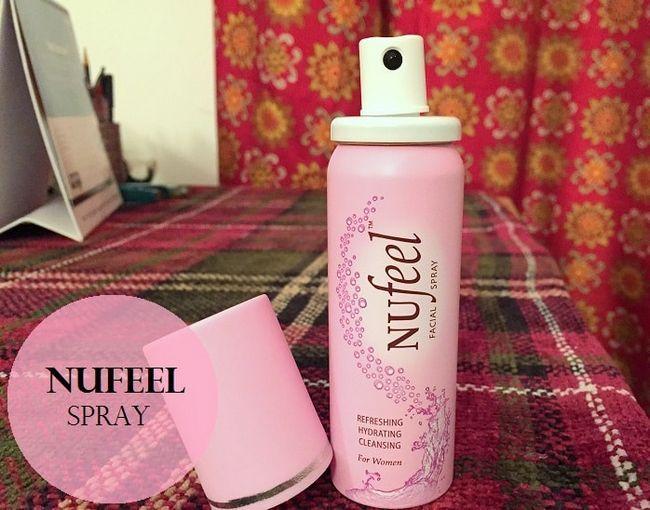 Nufeel forfriskende fuktighetsgivende rensing ansikts spray: vurdering, pris