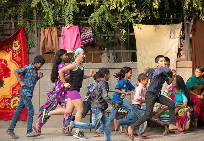 Samantha Gash planer posten kjøre over India