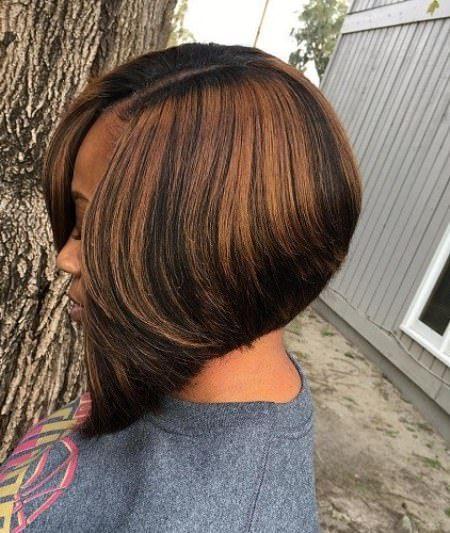 Korte veve frisyrer