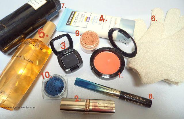 De mest brukte skjønnhetsprodukter? - april og mai 2012
