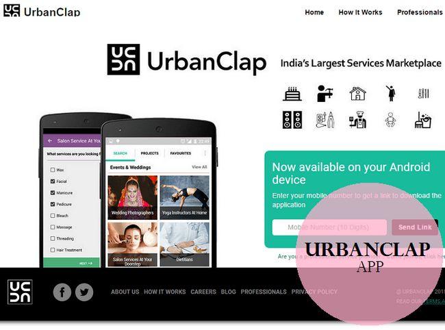 Urbanclap app tutorial: hvordan det gjør livet enkelt